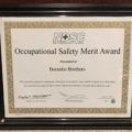 NDSC - Occupational Safety Merit Award 2017